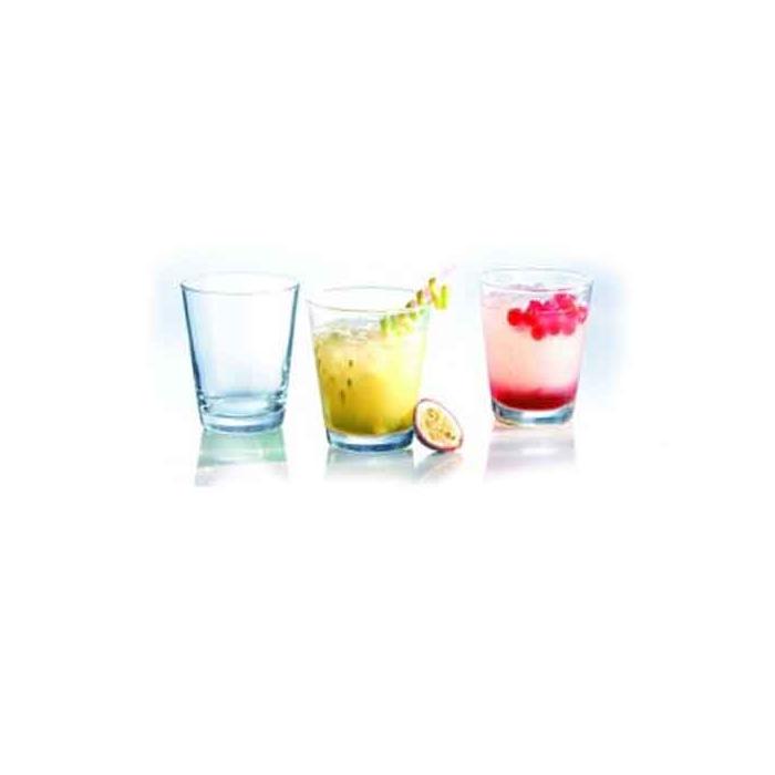 Bicchiere conico Dallas in vetro cl 22