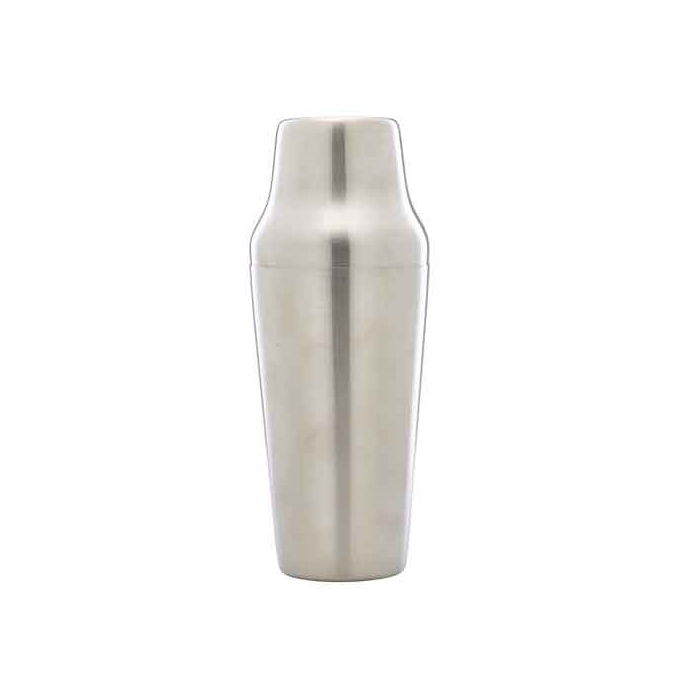 Shaker Parisienne in acciaio inox satinato cl 70
