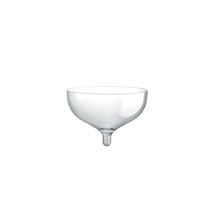 Coppa champagne Gold Plast trasparente cl 20