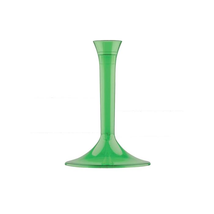 Base bicchieri Gold Plast colore verde cm 9,3