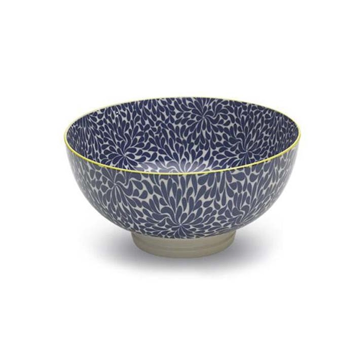 Insalatiera Bowl Tue blue in porcellana cm 20