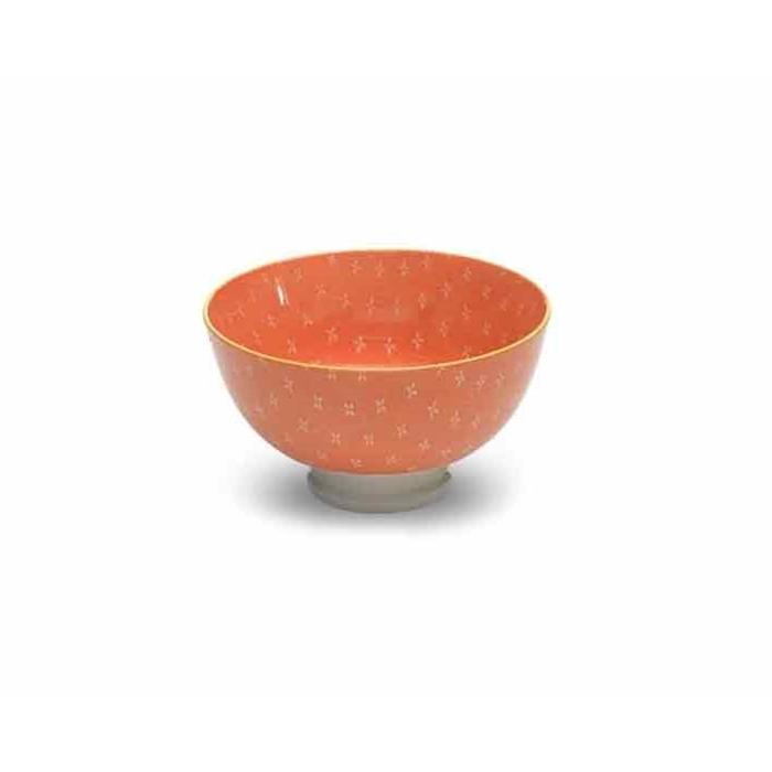 Coppetta Tue orange in porcellana cm 11,5