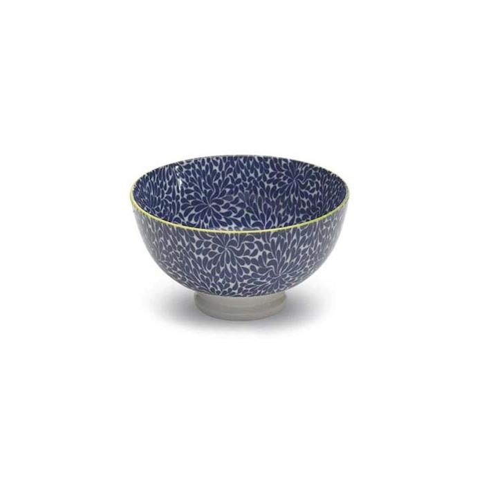 Coppetta Tue blue in porcellana cm 11,5