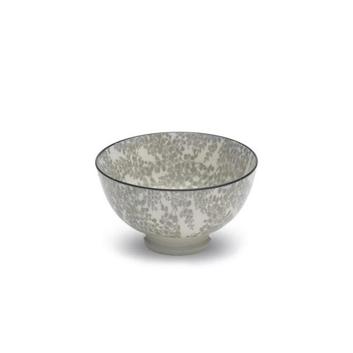 Coppetta Tue grey in porcellana cm 11,5