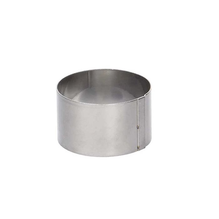 Stampo tondo De Buyer in acciaio inox cm 16x10