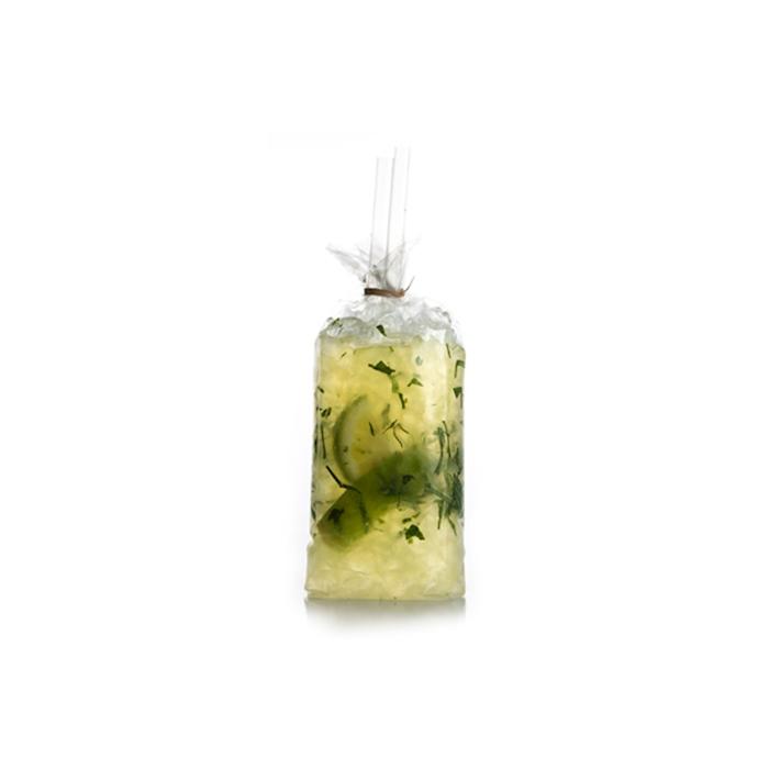 Sacchetto per cocktail 100% Chef in polipropilene cm 8x5x24