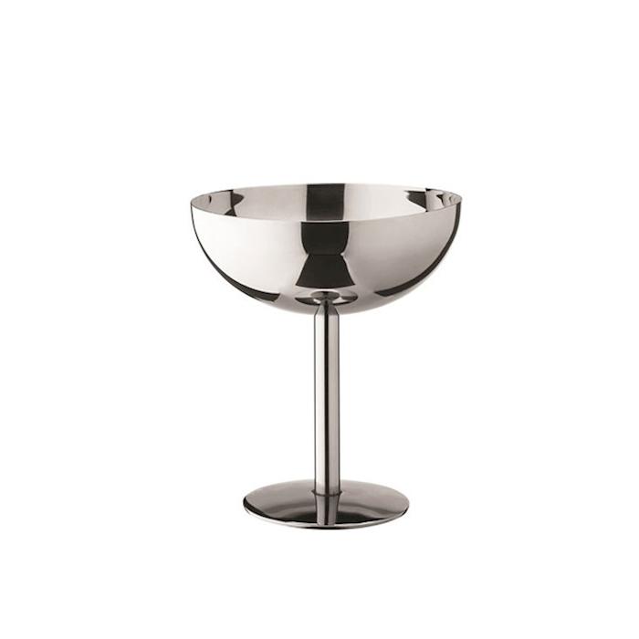Coppa champagne in acciaio inox cl 20