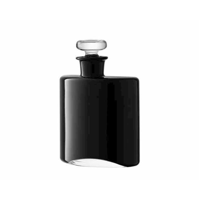 Bottiglia Flask in vetro nero cl 35