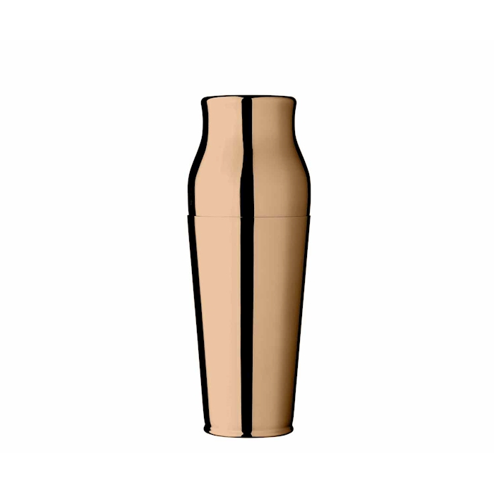 Shaker Urban Bar Calabrese parisienne in acciaio Rose gold Cl 90