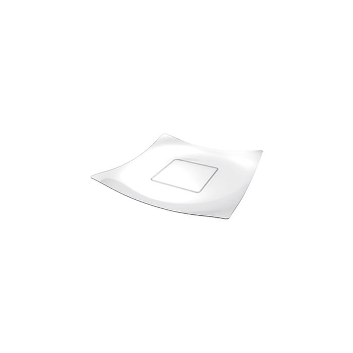 Piatti Sfera monouso in plastica trasparente cm 13x13