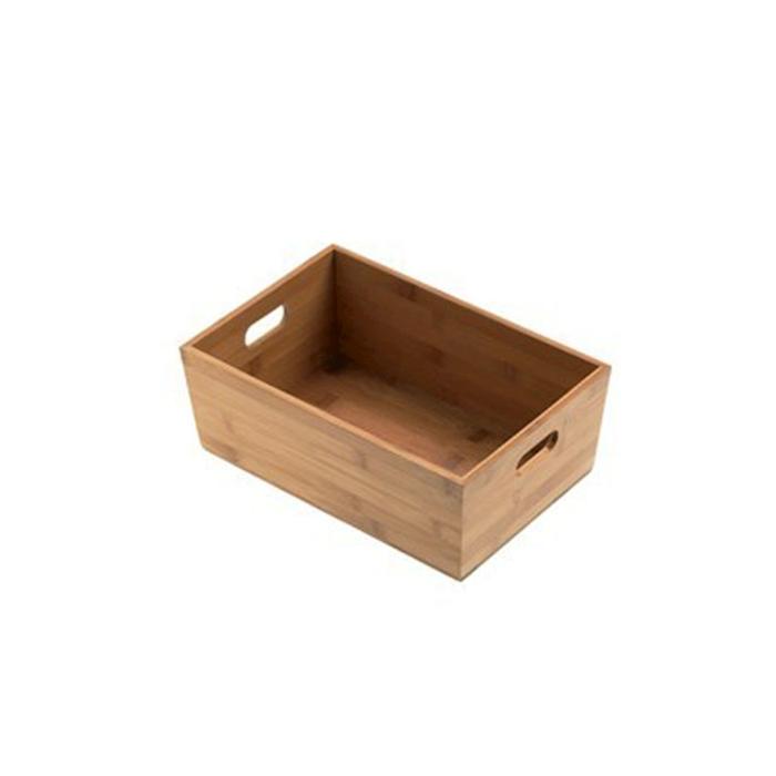 Porta bustine e salse Natural in legno cm 15x10