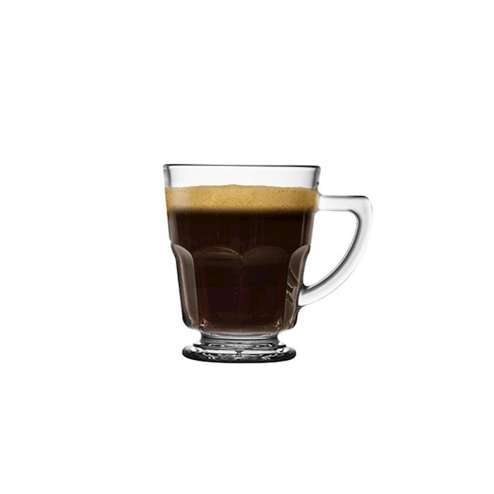 Bicchiere latte Casablanca in vetro cl 45