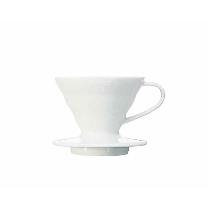 Filtro caffè 1-2 tazze in ceramica bianca