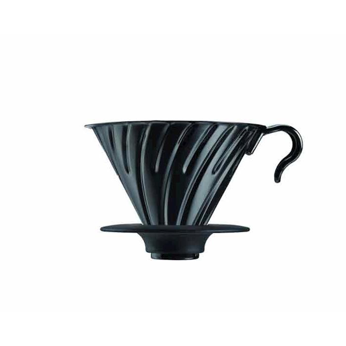 Filtro caffè 1-4 tazze in metallo nero
