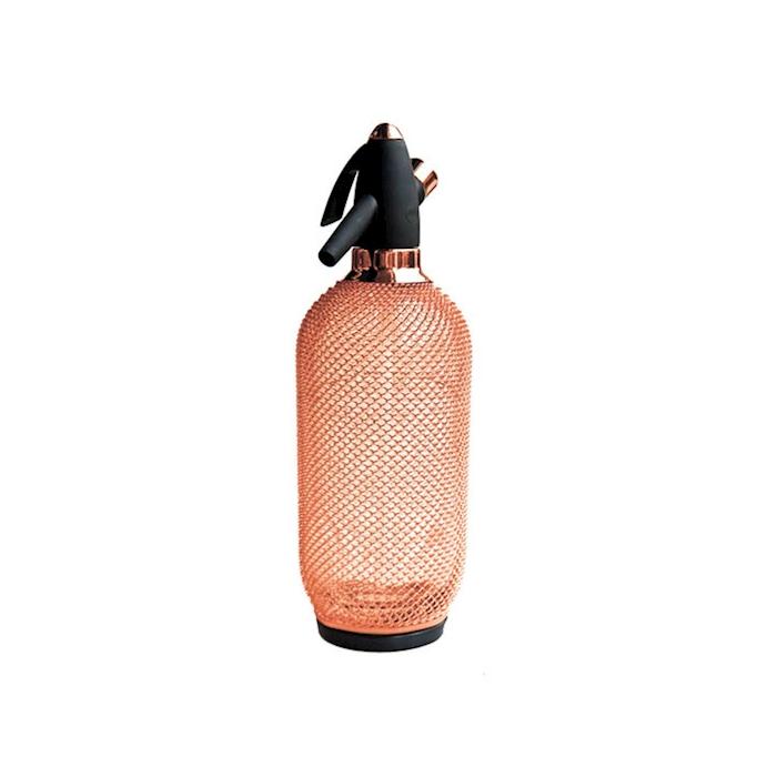 Sifone seltz Copper vintage in vetro lt 1