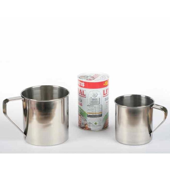 Mug Milk in acciaio inox cl 50
