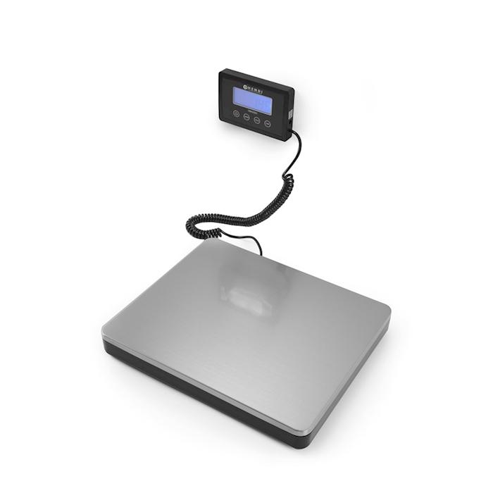 Bilancia digitale large Hendi in acciaio cm 30x25,5x4,2