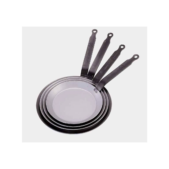 Padella crepiera Carbone Plus De Buyer in ferro cm 26