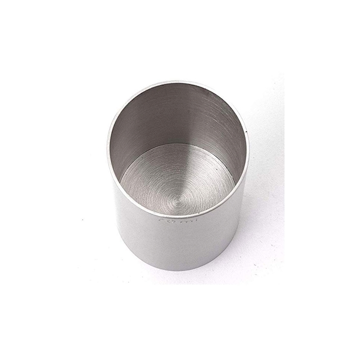 Jigger Thimble cilindrico in acciaio inox cl 10