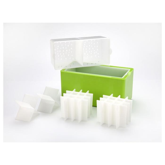 Stampo ghiaccio Ice cube verde cm 22,5x12x11