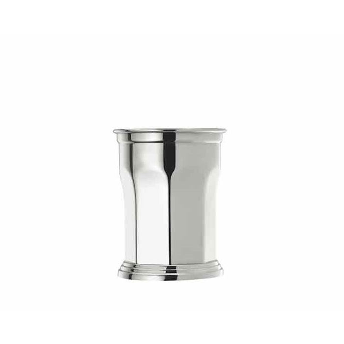 Bicchiere Mint Julep Octagonal in acciaio inox cl 41