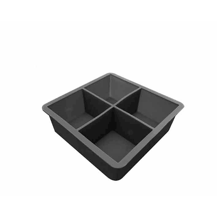 Stampo ghiaccio Cube in silicone nero cm 10,5x10,5