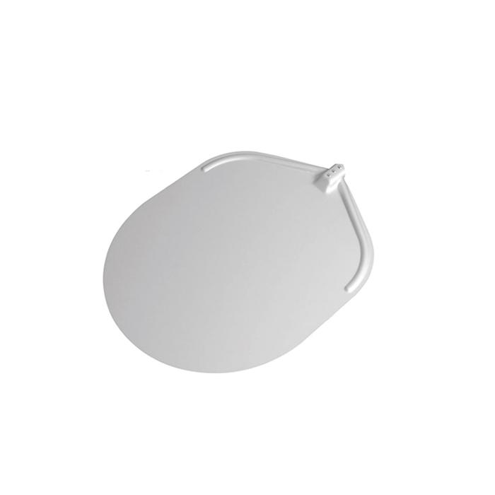 Pala per pizza ovale Stilcasa liscia senza manico in alluminio cm 50