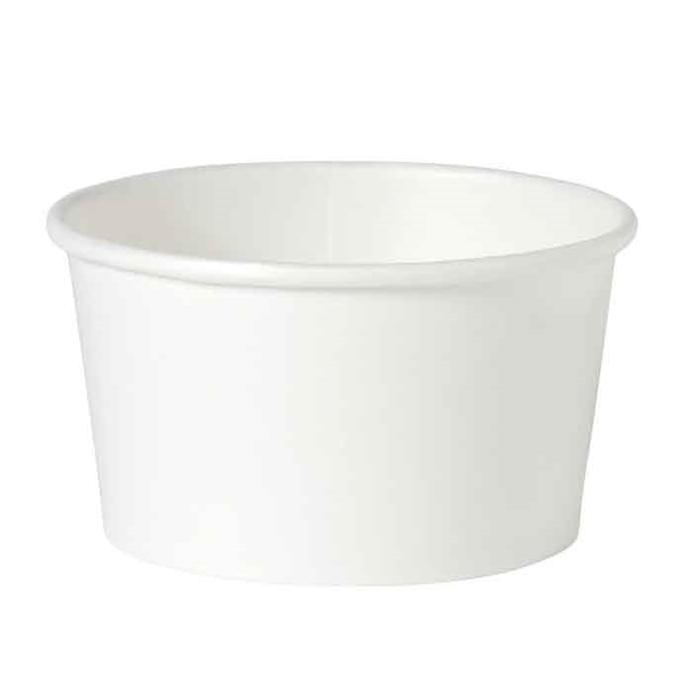 Ciotola minestra monouso Duni in cartone bianco cl 40