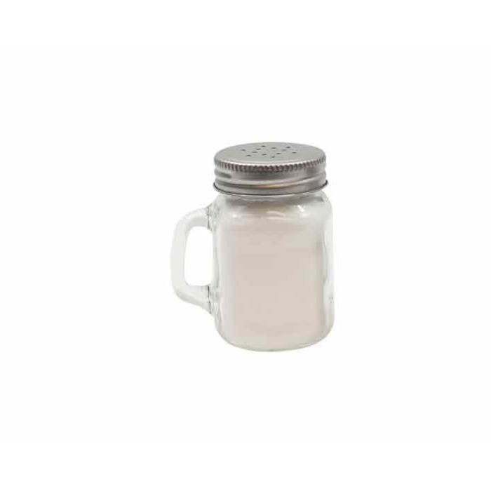 Spargi sale, pepe o cacao Barattolo in vetro cl 14