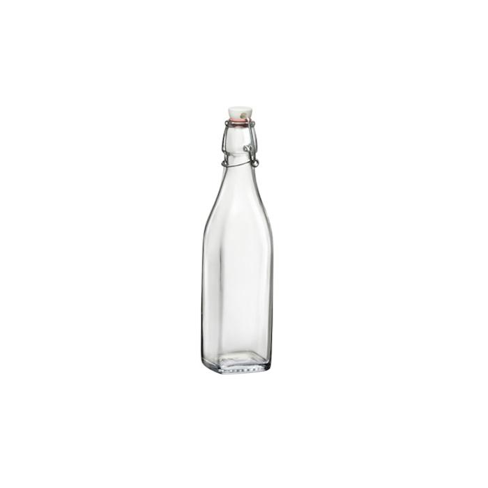 Bottiglia Swing Bormioli Rocco in vetro con tappo cl 12,5