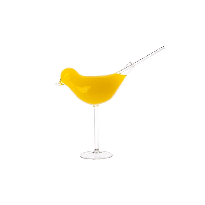 Calice Drink Like A Bird 100% Chef in vetro borosilicato cl 20