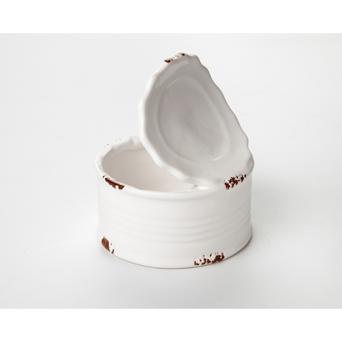 Scatoletta pelati 100% Chef in porcellana bianca cl 22