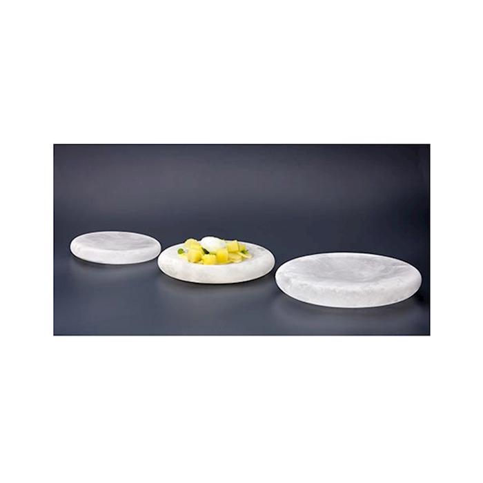 Piatto termico Ice Age 100% Chef in vetro satinato cm 20