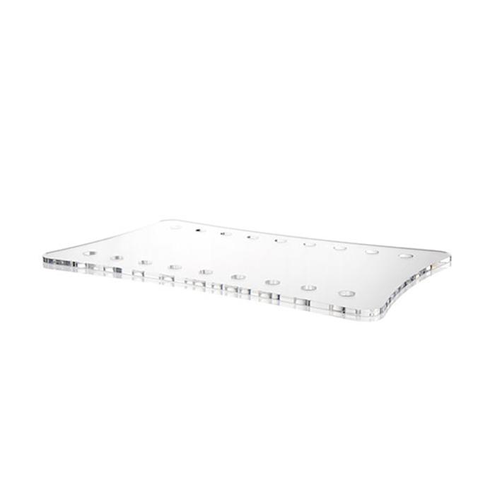 Vassoio Gastro 100% Chef in plexiglass bianco cm 53x32,5