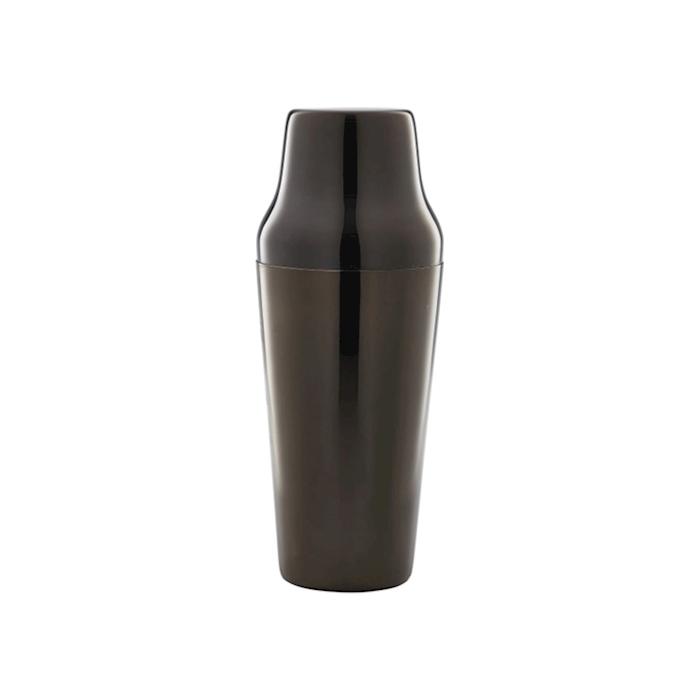 Shaker parisienne in acciaio nero cl 70