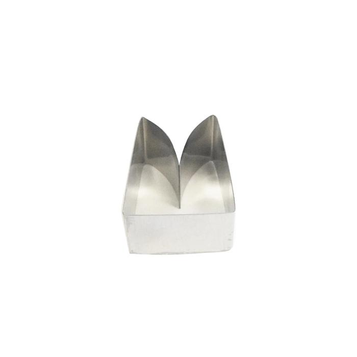 Coppapasta Medioevo Merlo Ghibellino in acciaio inox cm 4,6x5