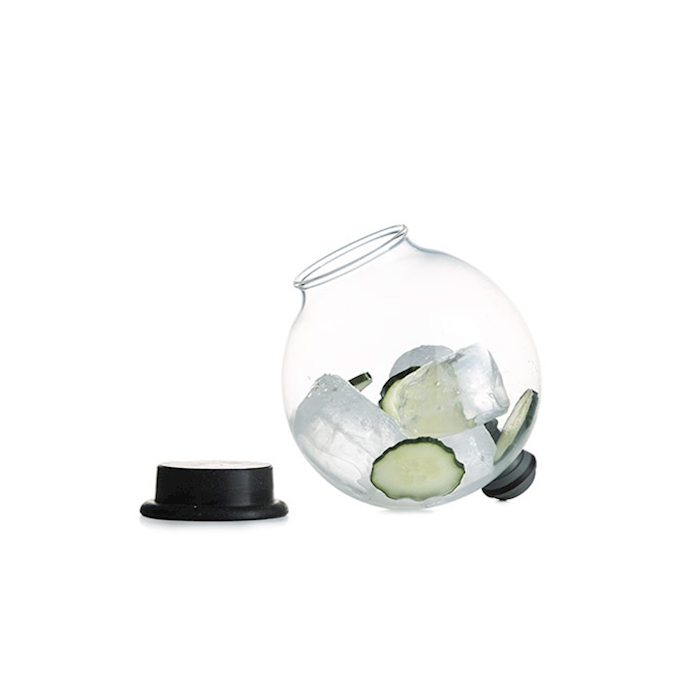 Bicchiere Infusion Bowl 100% Chef in vetro lt 1