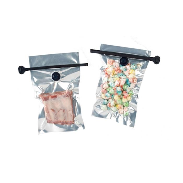 Sacchetti per conservare Storing Bag 100% Chef in polipropilene trasparente cm 30x18