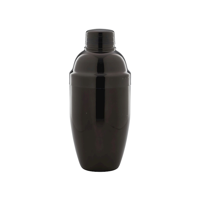 Shaker Cobbler in acciaio inox nero cl 50