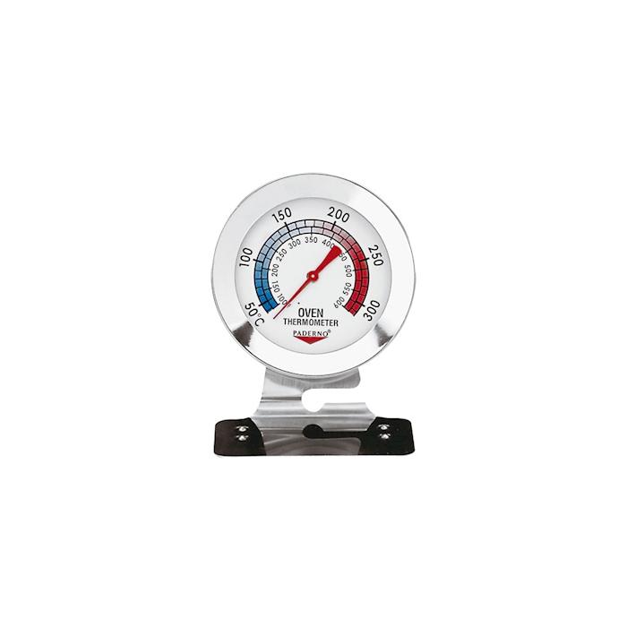 Termometro da forno da +38 a +316°C in acciaio inox