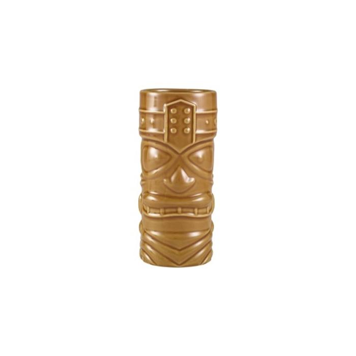 Tiki mug Funky in porcellana marrone cl 40