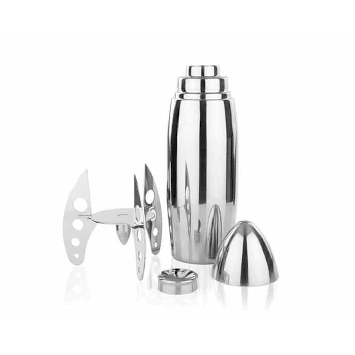 Shaker Missile Rocket in acciaio inox cl 50