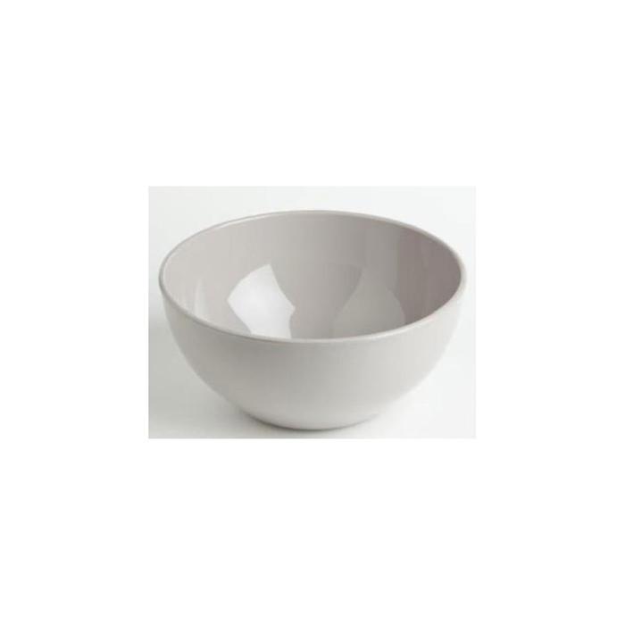 Insalatiera tonda in pbt bianco cm 25x11,5