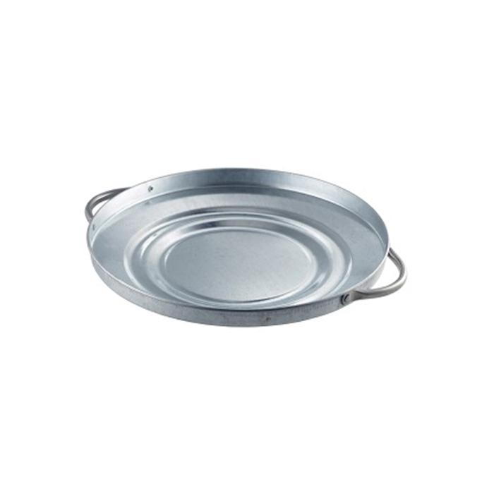 Vassoio a coperchio in acciaio galvanizzato cm 27,5
