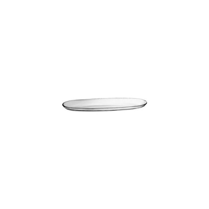 Vassoio ovale Fenice ViDiVi in vetro cm 30x9,5