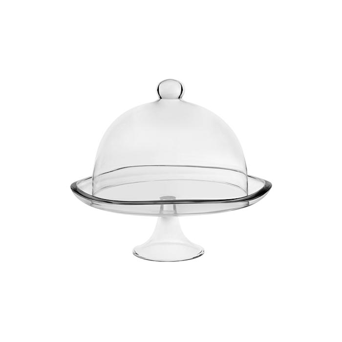 Alzata con campana Barena ViDiVi in vetro cm 35