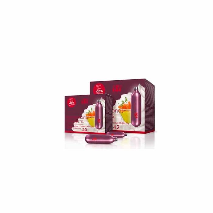 Bombolette per sifoni iSi panna e spume gr 8