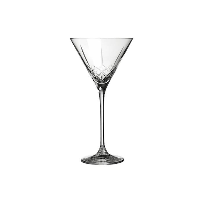 Coppa Martini Ginza Urban Bar in vetro lavorato cl 21