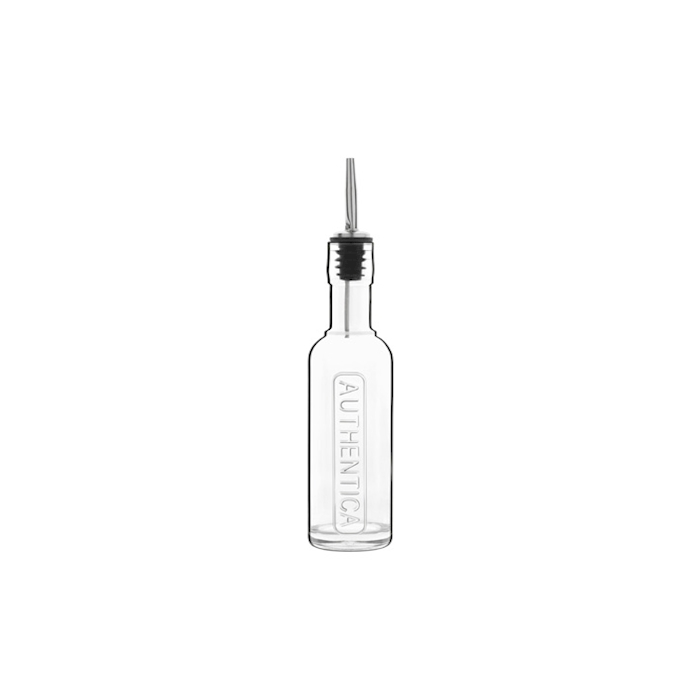Bottiglia Authentica Luigi Bormioli in vetro con tappo cl 25