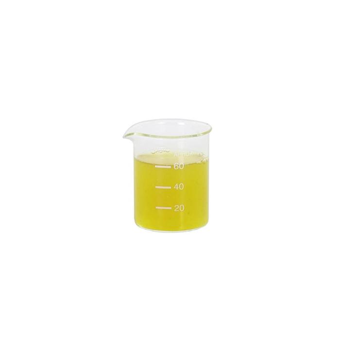 Contenitore beaker graduato in vetro cl 8